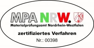 MPA-NRW Zertifiziertes Verfahren